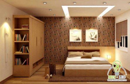 Các mẫu đèn LED trang trí phòng ngủ đẹp, đáng mua nhất 2021