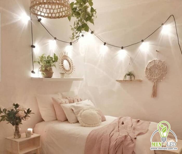 đèn led phòng ngủ đẹp
