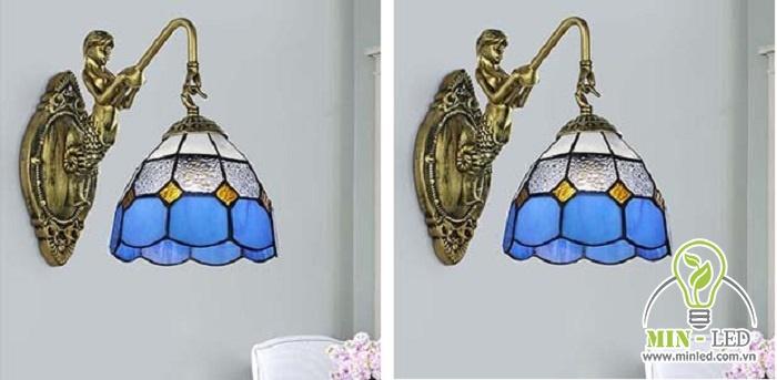 Mẫu đèn trang trí treo tường mỹ nhân ngư YB305 có thiết kế rất độc đáo, mang phong cách cổ điển