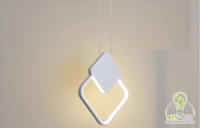 Đèn LED trang trí phòng ngủ treo thả trần phòng ngủ TL-DG-01R sử dụng chip LED cao cấp, ánh sáng dịu nhẹ, không gây chói mắt