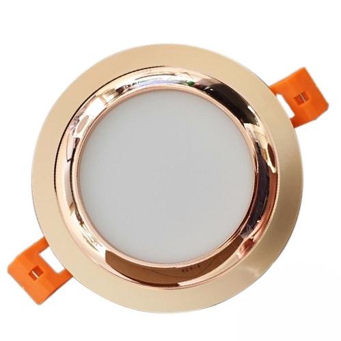 Đèn LED âm trần Duhal 3 màu 5W KFX005