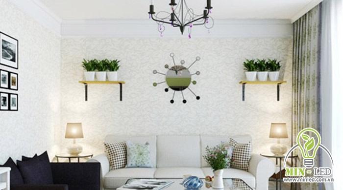 Treo đèn cần chú ý đến chiều cao trần nhà để không gây vướng khi đi lại và tạo cảm giác căn phòng rộng rãi hơn