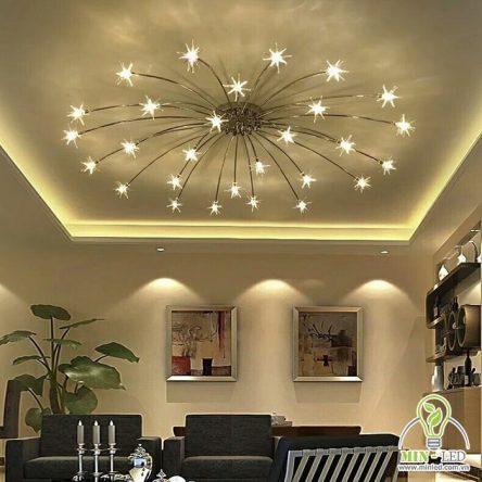 9 Mẫu đèn trang trí phòng khách nhỏ đẹp cùng nguyên tắc chọn đèn